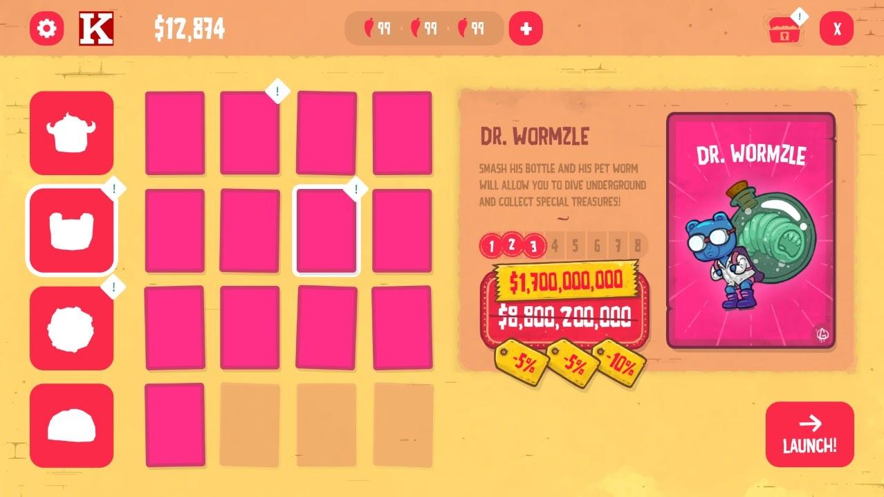 Burrito Bison: Launcha Libre - UI Design Process