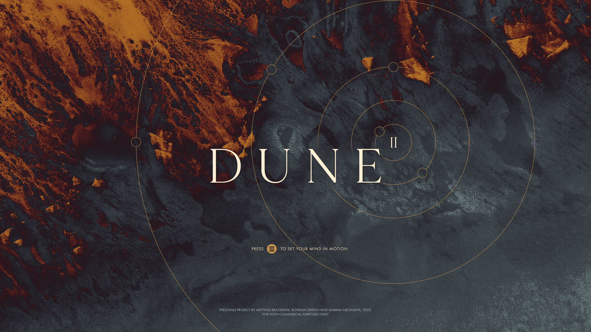Making DUNE II - Reimagined