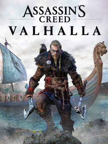 Cover media of Assassin's Creed Valhalla video game.