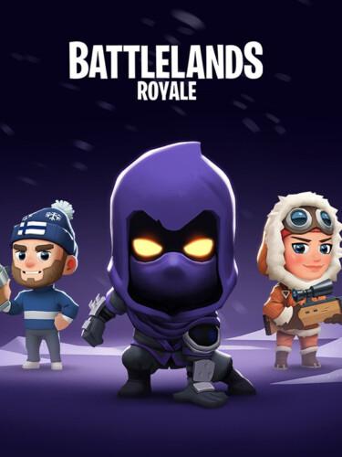 Cover media of Battlelands Royale video game.