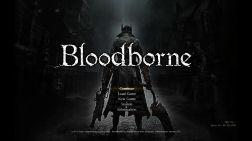 bloodborne-main-menu