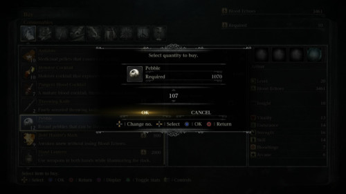 bloodborne-select-quantity-to-buy