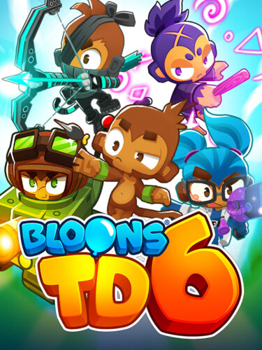 Cover media of Bloons TD 6 video game.