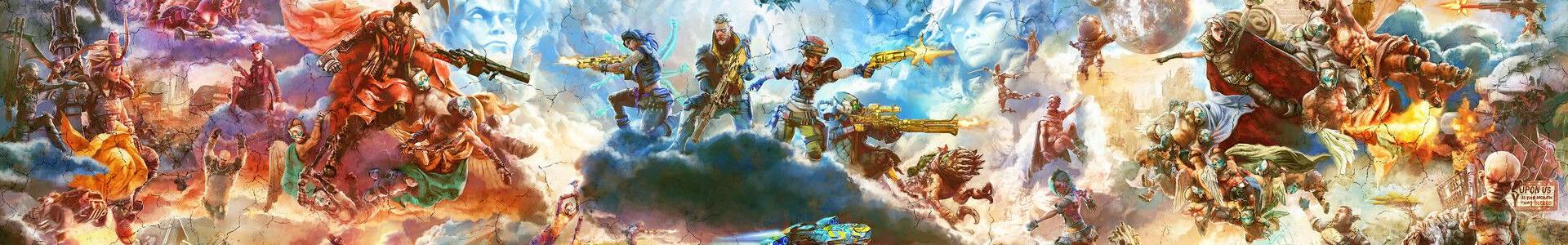 Banner media of Borderlands 3 video game.