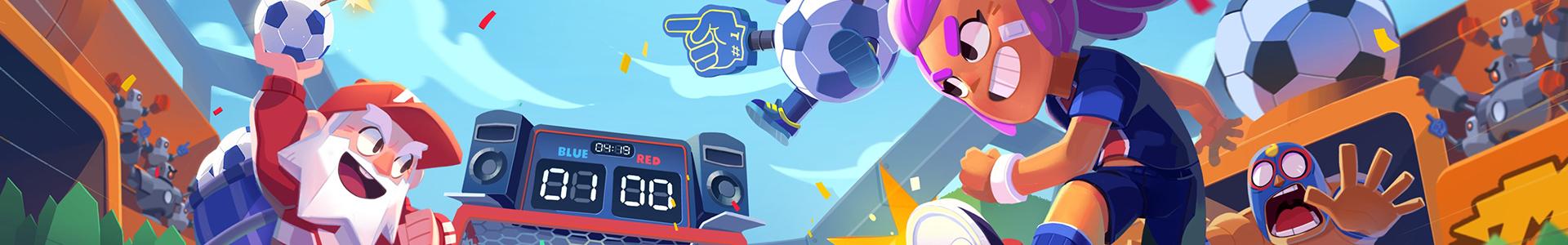 Banner media of Brawl Stars video game.