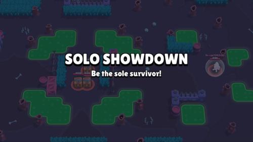 Be the sole survivor screenshot of Brawl Stars video game interface.