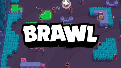 Brawl screenshot of Brawl Stars video game interface.
