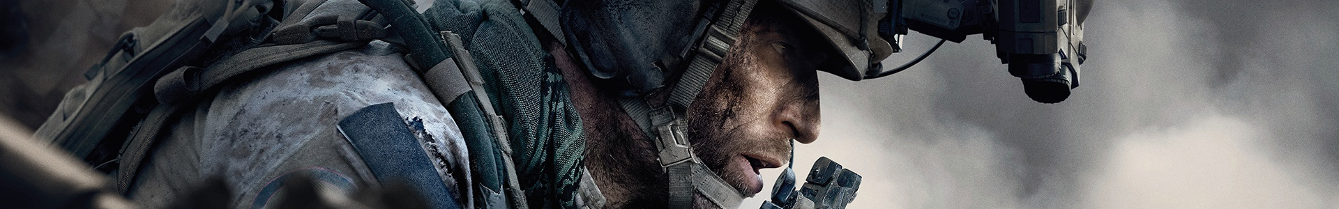 Banner media of Call of Duty: Modern Warfare video game.