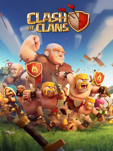 Cover media of Clash of Clans video game.