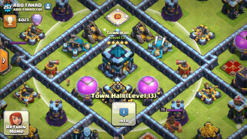 PLayer clan screenshot of Clash of Clans video game interface.