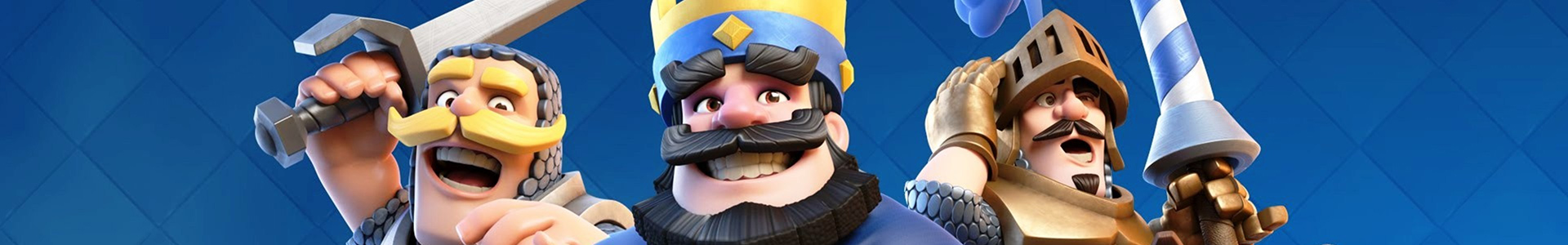 Banner media of Clash Royale video game.