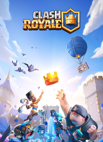 Cover media of Clash Royale video game.