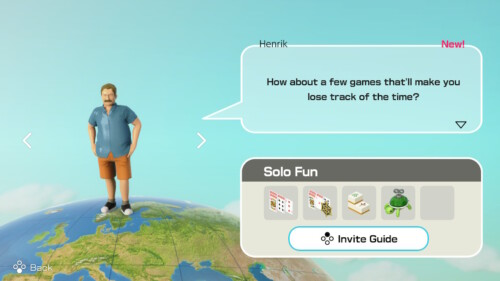 Game Recommendation screenshot of Clubhouse Games: 51 Worldwide Classics video game interface.