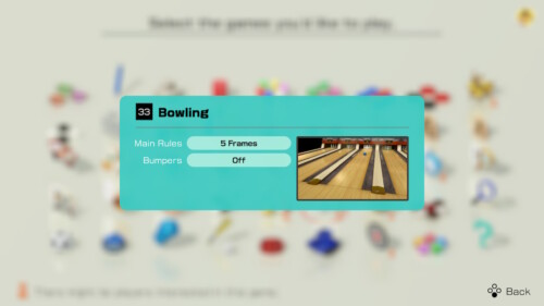 Game Rules screenshot of Clubhouse Games: 51 Worldwide Classics video game interface.
