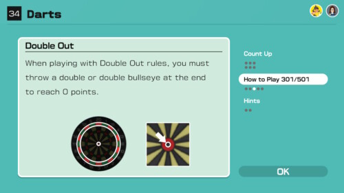 How to Play screenshot of Clubhouse Games: 51 Worldwide Classics video game interface.
