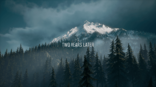 Chapter screenshot of Days Gone video game interface.