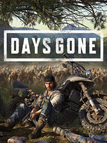 Cover media of Days Gone video game.