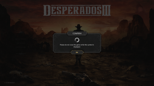 Autosave screenshot of Desperados III video game interface.