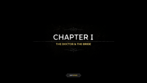 Chapter screenshot of Desperados III video game interface.