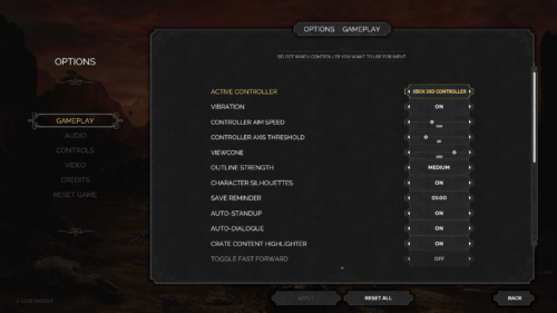 Gameplay screenshot of Desperados III video game interface.