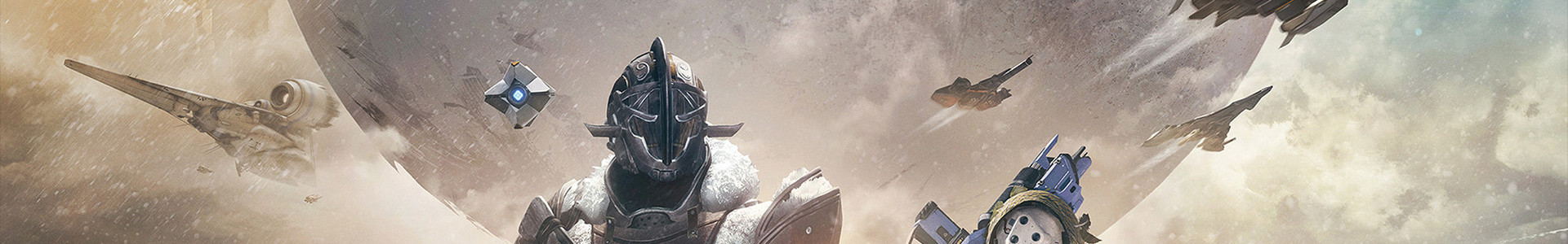 Banner media of Destiny 2 video game.