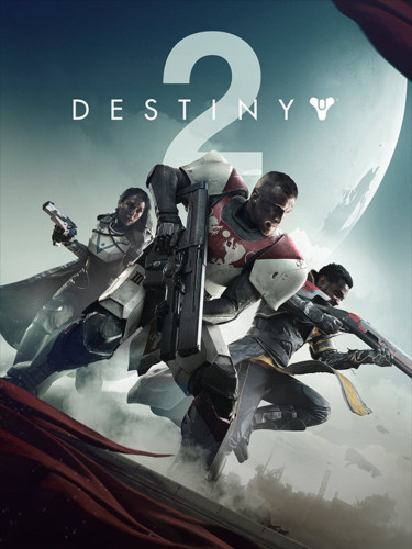 Cover media of Destiny 2 video game.
