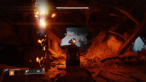Enemies screenshot of Destiny 2 video game interface.
