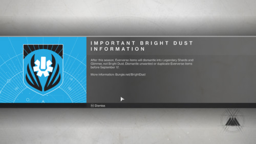 Information screenshot of Destiny 2 video game interface.