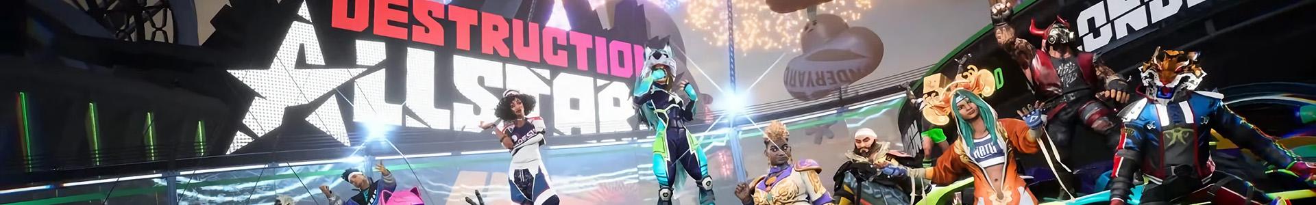 Banner media of Destruction AllStars video game.