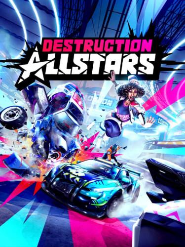 Cover media of Destruction AllStars video game.