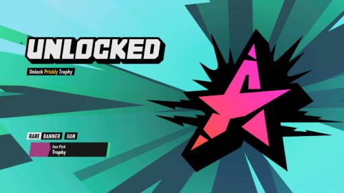 Customisation Unlocked  screenshot of Destruction AllStars video game interface.