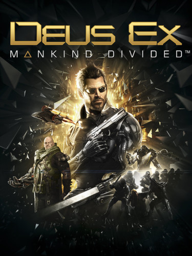 Cover media of Deus Ex: Mankind Divided video game.