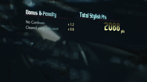 Bonus screenshot of Devil May Cry 5 video game interface.