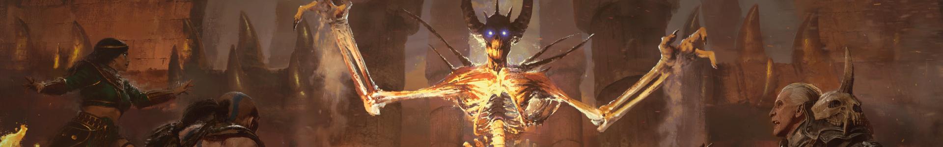 Banner media of Diablo II: Resurrected – Technical Alpha video game.