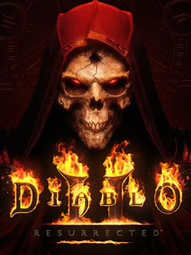 Cover media of Diablo II: Resurrected – Technical Alpha video game.