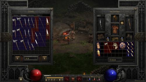 Trade screenshot of Diablo II: Resurrected – Technical Alpha video game interface.