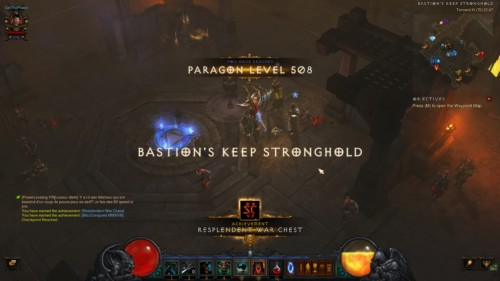 Achievement screenshot of Diablo III video game interface.