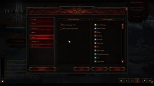 Chat screenshot of Diablo III video game interface.