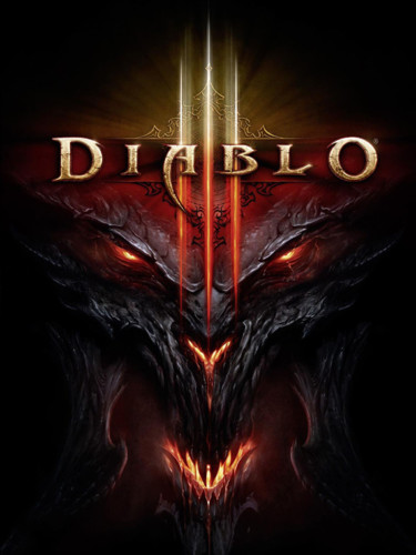 Cover media of Diablo III video game.