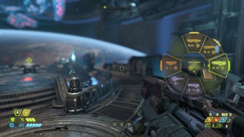 Inventory screenshot of Doom Eternal video game interface.