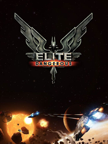 Cover media of Elite: Dangerous video game.