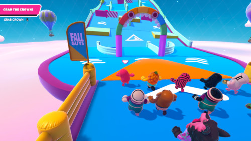 Grab the crown screenshot of Fall Guys: Ultimate Knockout video game interface.