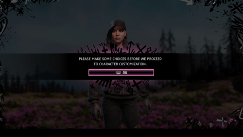 Confirmation screenshot of Far Cry New Dawn video game interface.