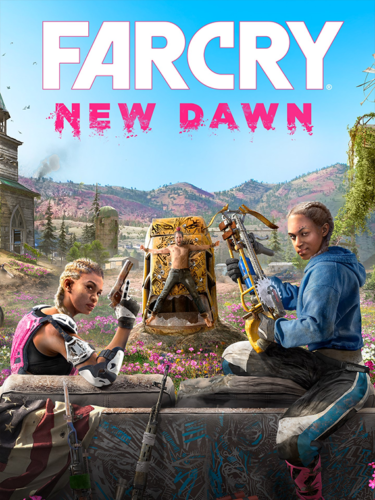 Cover media of Far Cry New Dawn video game.