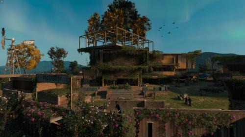 Cut Scene screenshot of Far Cry New Dawn video game interface.
