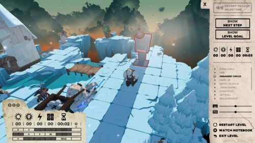 Settings in game screenshot of Felix the Reaper video game interface.