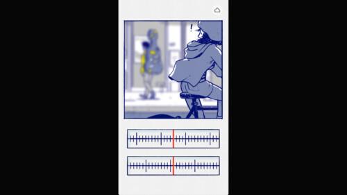 Adjusting Focus Bar screenshot of Florence video game interface.