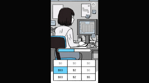 Progress Bar - Working screenshot of Florence video game interface.