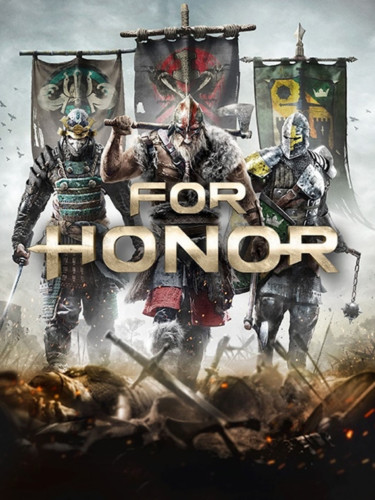 Cover media of For Honor video game.