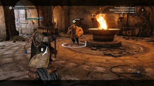 Defeat the enemy screenshot of For Honor video game interface.
